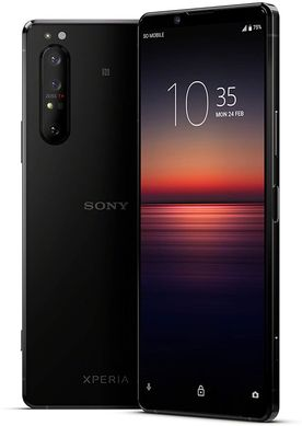 Смартфон Sony Xperia 1 II XQ-AT51 8/256GB Black