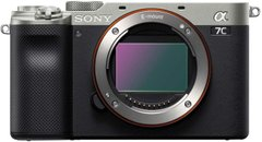 Фотоаппарат Sony Alpha a7C Body Silver (ILCE7CS.CEC)